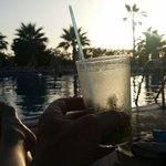 A final Mojitos as the sun sets on the lower pool. Perfect end to the evening.