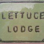 Lettuce Lodge plaque