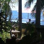 Uitzicht vanuit restaurant
