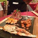 Creazione di pesce dello chef!