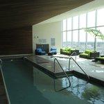 la piscine et le jaccuzi