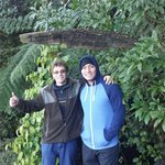 Tim & Dane on the nature walk