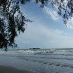 la plage toute proche