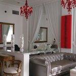 Beautiful lounge area