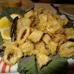 Great fried calamari!