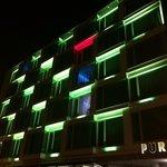 Puro Hotel at night