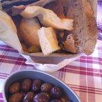 Assortiment de pains à grignoter