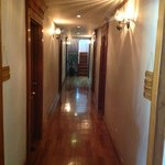 Corridor leading to our room