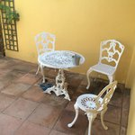 Our terrace furniture