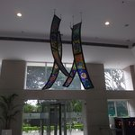 Hotel lobby decoration