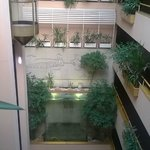 Vue intérieure de l'hôtel