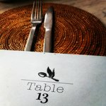 Table 13 sets the Table