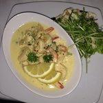 Best garlic prawns