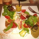 Salade fraicheur terre et mer