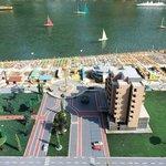 """Маленькая копия отеля Bellevue в парке """"Италия в миниатюре"""""""