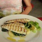 Filetto di pesce con verdure