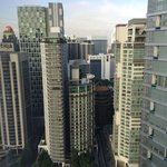 View from the room @ Mandarin Oriental KL