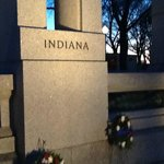 Indiana monument at WW II Memorial