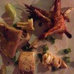 Tasty fresh seafood
