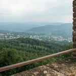 View of Baden Baden from the castle