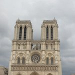 Notre Dame from the front