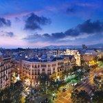 Mandarin Oriental, Barcelona - Views from Terrat rooftop