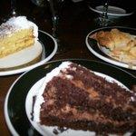 Some Desserts from the big Dessert Buffet Bar