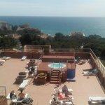Vistas desde la azotea del hotel