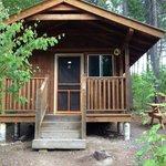 Outside cabin 2