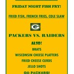 AUGUST 22 FISH FRY PACKERS GAME!