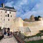 Approaching Chinon Chateau/Fortress