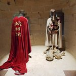 Chinon Chateau/Fortress exhibit