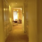 Hallway from door to main area