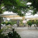 εξωτερική καφετέρια