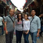 with Leah's family Tongli