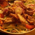 insalata mista con pollo grigliato