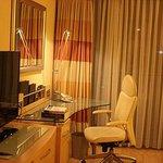 TV and dresser