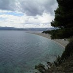 Beach Zlatni rat - out of season