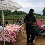 Cooking on Simon Creek Winery