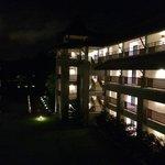 Le Meridien at night