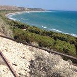 La costa vista da Eracle Minoa