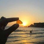 Seaglass & sunset