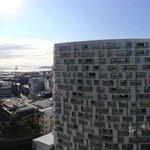 Panorama of balcony view