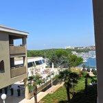 Sempre foto dal balcone con vista verso il porto