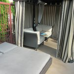 small cabana includes daybed