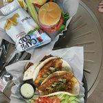 Fish tacos & sliders
