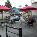 Outdoor seating optional