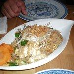 noodles con pollo e verdura