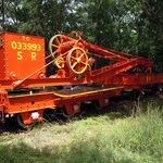 Old steam Rail crane