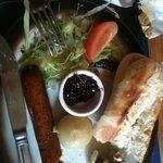 Sausage Ploughmans